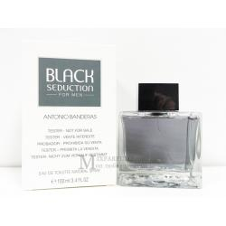 Antonio Banderas Black Seduction edt 100 ml m TESTER Туалетная Мужская