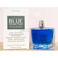 Antonio Banderas Blue Seduction For Men edt 100 ml m TESTER Туалетная Мужская