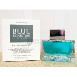 Antonio Banderas Blue Seduction For Women edt 80 ml w TESTER Туалетная Женская