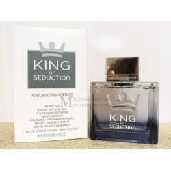 Antonio Banderas King Of Seduction edt 100 ml m TESTER Туалетная Мужская