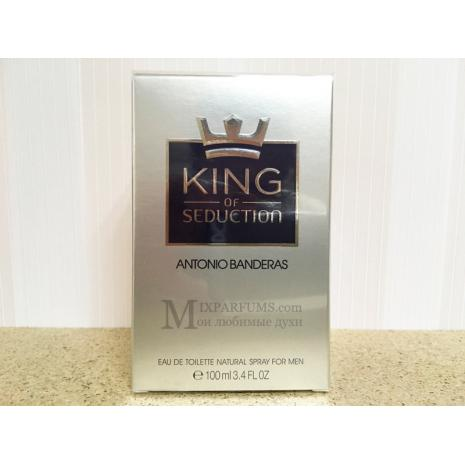 Antonio Banderas King Of Seduction edt 100 ml m Туалетная Мужская