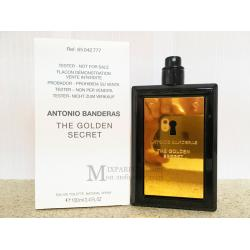 Antonio Banderas The Golden Secret edt 100 ml m TESTER Туалетная Мужская