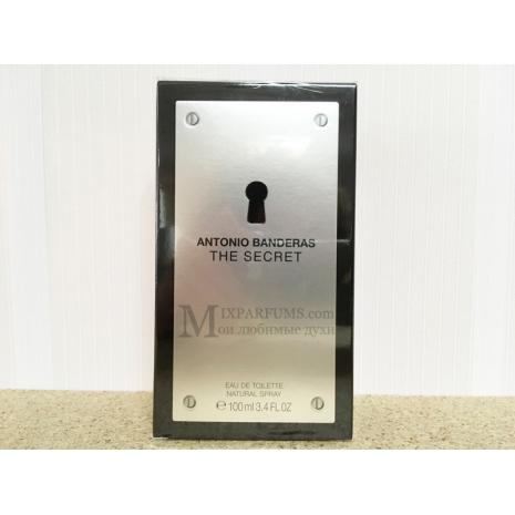 Antonio Banderas The Secret edt 100 ml m Туалетная Мужская