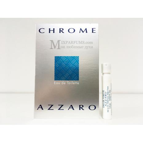 Azzaro Chrome edt 1.2 ml m Туалетная Мужская