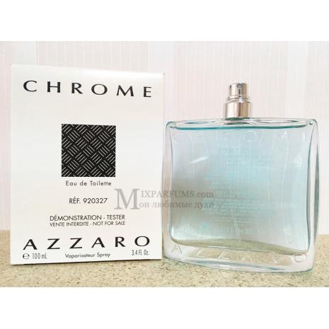 Azzaro Chrome edt 100 ml m TESTER Туалетная Мужская