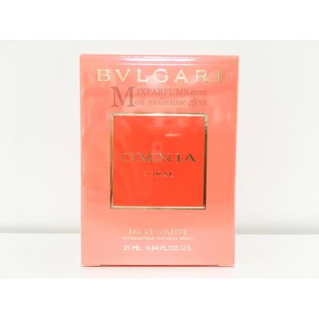 Bvlgari Omnia Coral edt 25 ml w Туалетная Женская