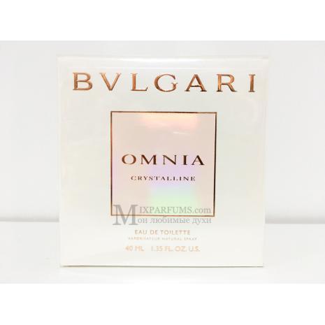 Bvlgari Omnia Crystalline edt 40 ml w Туалетная Женская