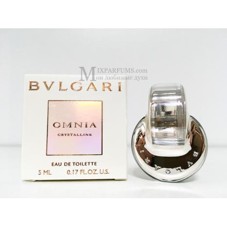 Bvlgari Omnia Crystalline edt 5 ml w Туалетная Женская