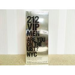 Carolina Herrera 212 VIP Men edt 100 ml m Туалетная Мужская