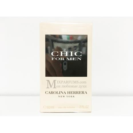 Carolina Herrera Chic For Men edt 60 ml m Туалетная Мужская