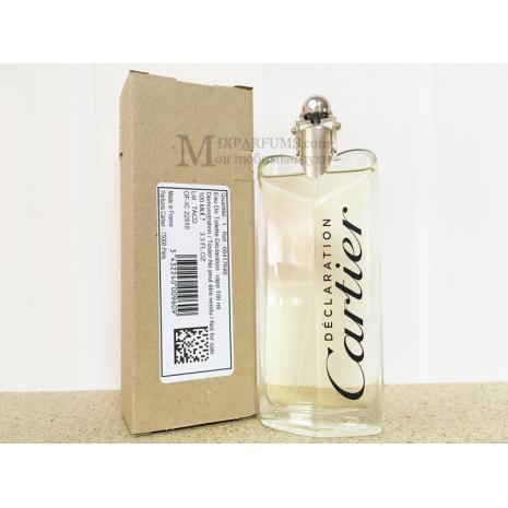 Cartier Declaration edt 100 ml m TESTER Туалетная Мужская