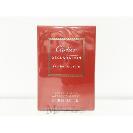 Cartier Declaration edt 12.5 ml m Туалетная Мужская