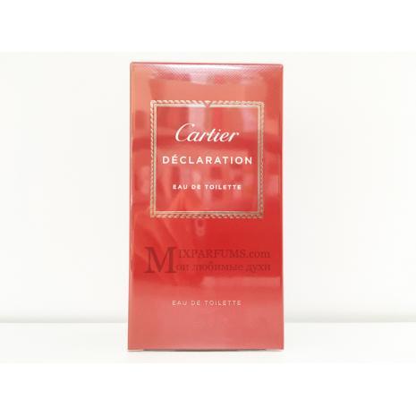 Cartier Declaration edt 50 ml m Туалетная Мужская
