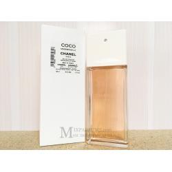 Chanel Coco Mademoiselle Eau De Toilette edt 100 ml w TESTER Туалетная Женская