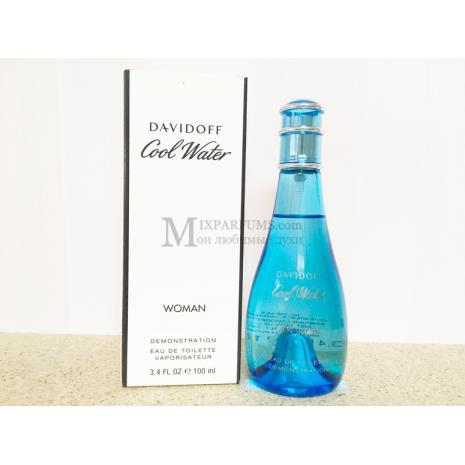 Davidoff Cool Water Woman edt 100 ml w TESTER Туалетная Женская