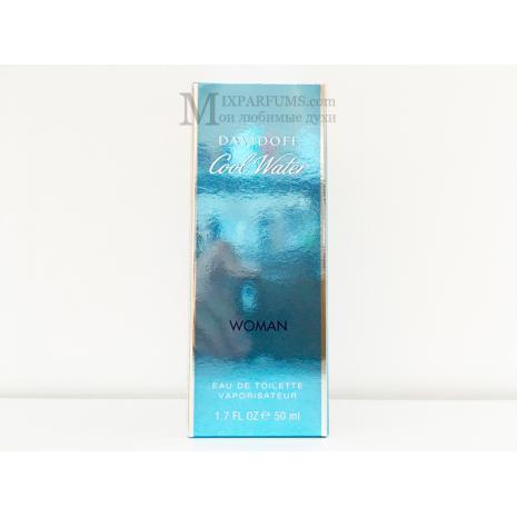Davidoff Cool Water Woman edt 50 ml w Туалетная Женская