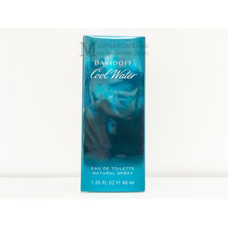 Davidoff Cool Water edt 40 ml m Туалетная Мужская