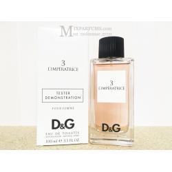 Dolce Gabbana DG Anthology L Imperatrice 3 edt 100 ml w TESTER Туалетная Женская