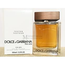 Dolce Gabbana The One For Men edt 100 ml m TESTER Туалетная Мужская