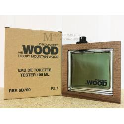 Dsquared2 He Wood Rocky Mountain Wood edt 100 ml m TESTER Туалетная Мужская