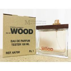 Dsquared2 She Wood edp 100 ml w TESTER Парфюмированная Женская