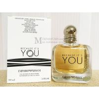 Giorgio Armani Emporio Armani Because Its You edp 100 ml w TESTER Парфюмированная Женская – фото 1