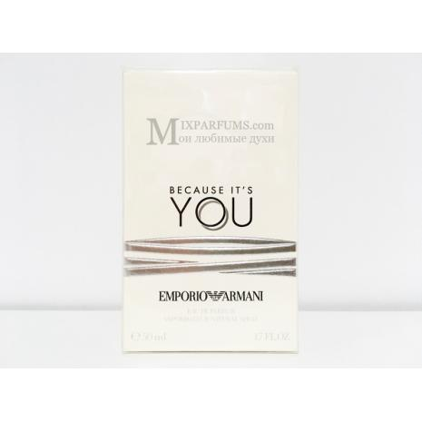 Giorgio Armani Emporio Armani Because Its You edp 50 ml w Парфюмированная Женская