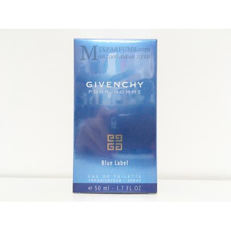 Givenchy Givenchy Pour Homme Blue Label edt 50 ml m Туалетная Мужская