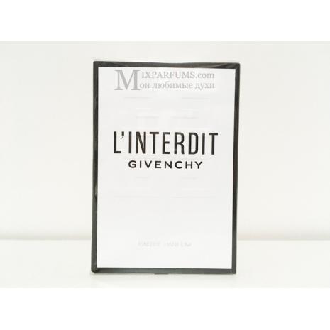 Givenchy L Interdit Eau De Parfum edp 35 ml w Парфюмированная Женская