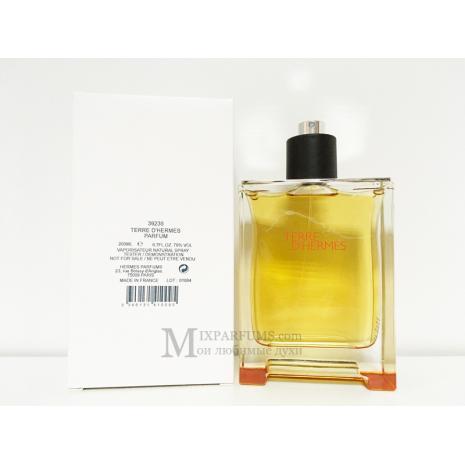 Hermes Terre D Hermes Parfum edp 200 ml m TESTER Парфюмированная Мужская