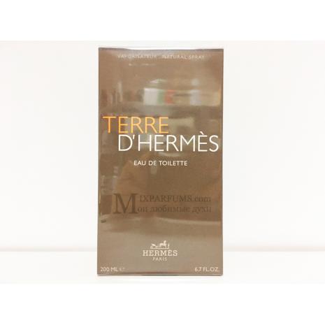 Hermes Terre D Hermes edt 200 ml m Туалетная Мужская