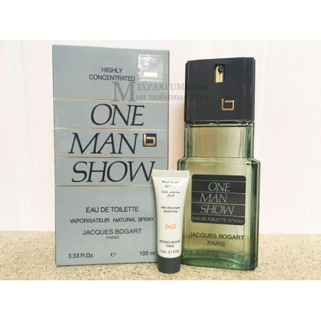Jacques Bogart One Man Show set (edt 100 ml + a/sh balm 3 ml) m Набор Мужская
