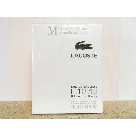 Lacoste L.12.12 White (Blanc) edt 100 ml m Туалетная Мужская