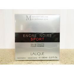 Lalique Encre Noire Sport edt 100 ml m Туалетная Мужская