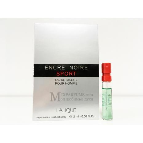 Lalique Encre Noire Sport edt 2 ml m Туалетная Мужская
