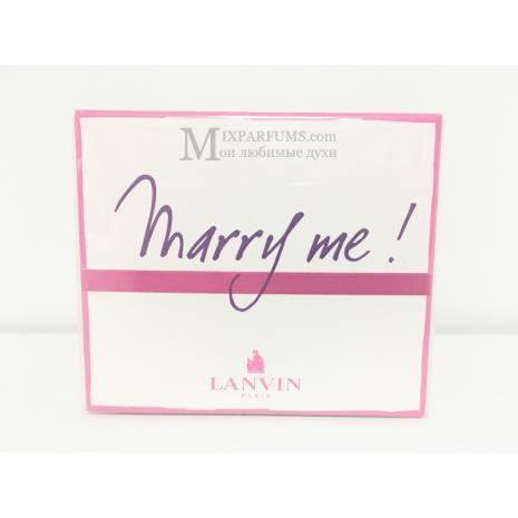 Lanvin Marry Me edp 30 ml w Парфюмированная Женская