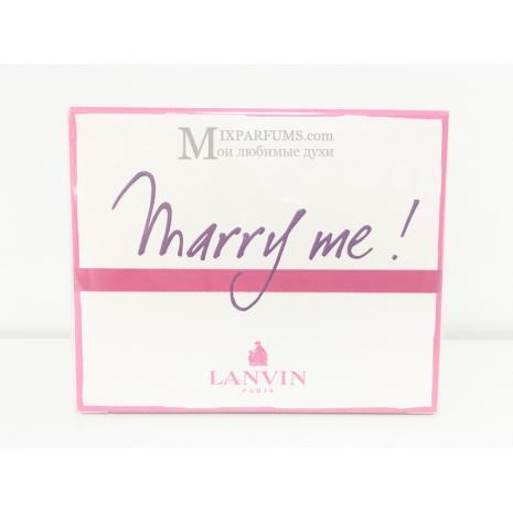 Lanvin Marry Me edp 50 ml w Парфюмированная Женская
