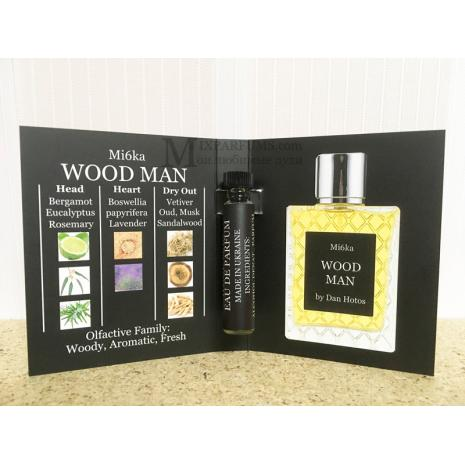 Mi6ka Wood Man By Dan Hotos edp 2 ml m Парфюмированная Мужская