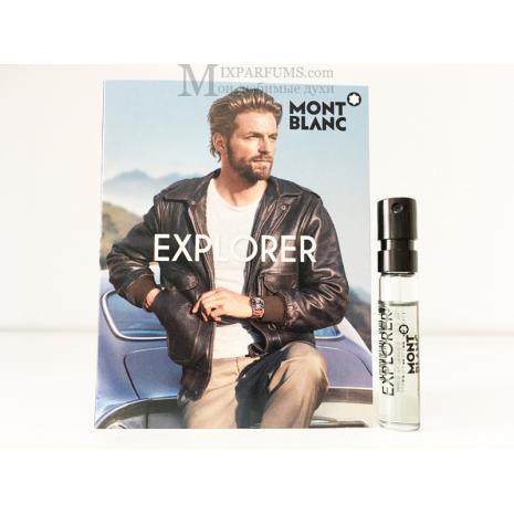 Montblanc Explorer edp 2 ml m Парфюмированная Мужская