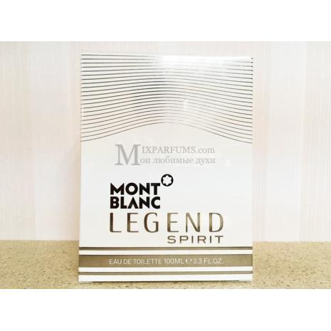 Montblanc Legend Spirit edt 100 ml m Туалетная Мужская