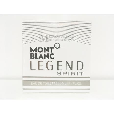 Montblanc Legend Spirit edt 30 ml m Туалетная Мужская