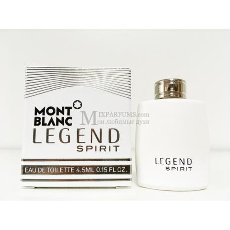 Montblanc Legend Spirit edt 4.5 ml m Туалетная Мужская