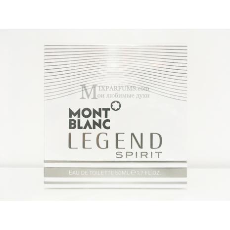 Montblanc Legend Spirit edt 50 ml m Туалетная Мужская