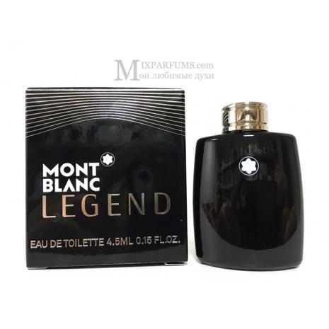 Montblanc Legend edt 4.5 ml m Туалетная Мужская