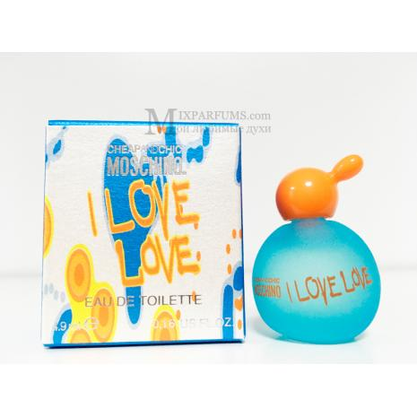 Moschino Cheap And Chic I Love Love edt 4.9 ml w Туалетная Женская