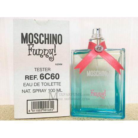 Moschino Funny! edt 100 ml w TESTER Туалетная Женская