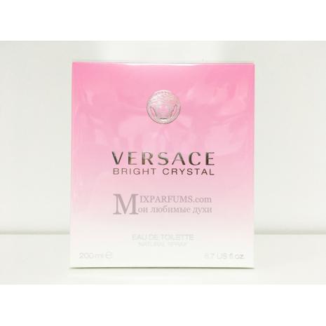 Versace Bright Crystal edt 200 ml w Туалетная Женская