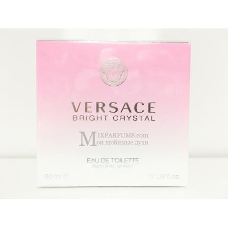 Versace Bright Crystal edt 50 ml w Туалетная Женская