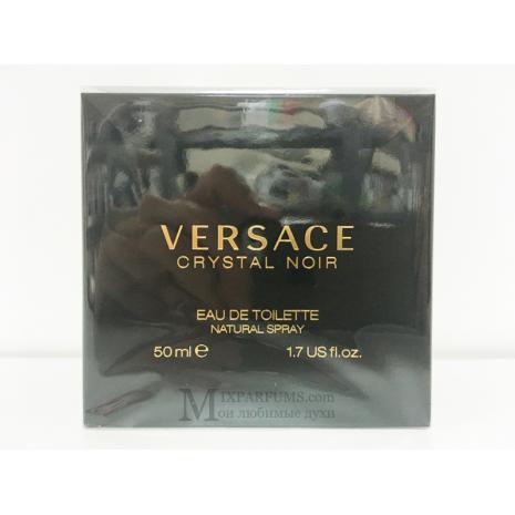 Versace Crystal Noir Eau De Toilette edt 50 ml w Туалетная Женская