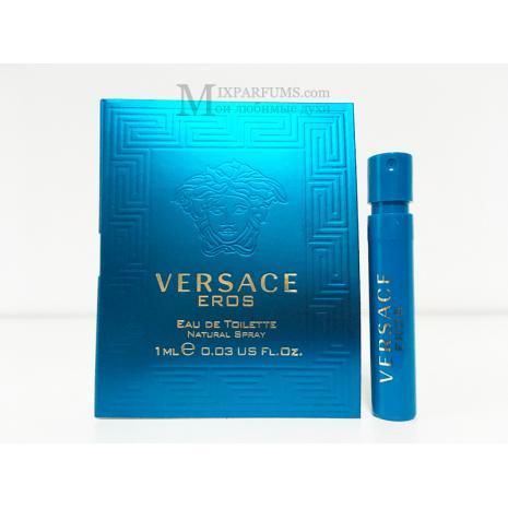 Versace Eros edt 1 ml m Туалетная Мужская